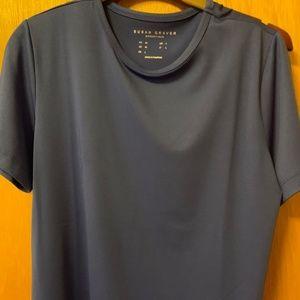 Susan Graver scoop neck nylon shirt-NWOT
